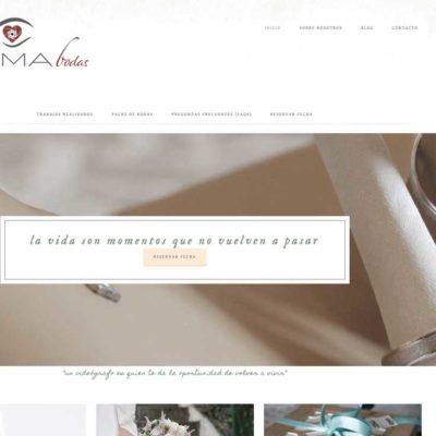 Captura de la web de Xegma, la nueva web de vídeos para boda